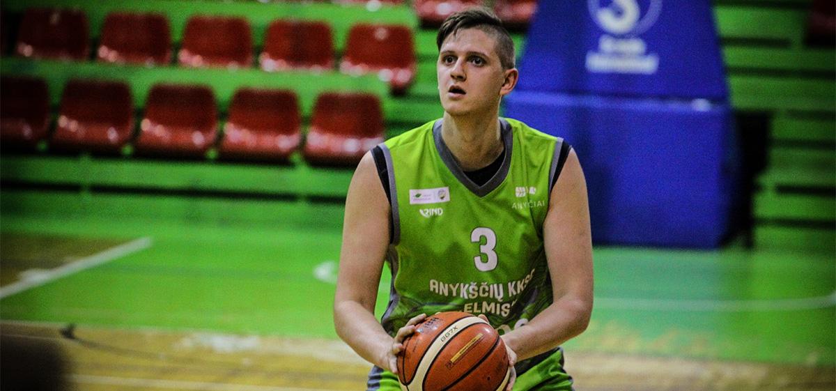 T.Jodelis: apie sprendimą likti komandoje ir Anykščių krepšinio sirgalius
