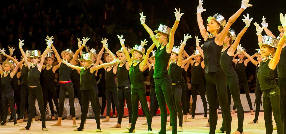 """""""KKSC-Elmio"""" rungtynėse – Lietuvos meninės gimnastikos jaunimo rinktinės pasirodymas"""